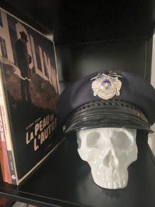 Véritable Casquette Police Pennsylvanie USA avec badge