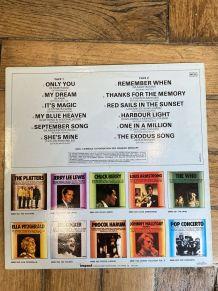 Vinyle vintage The Platters