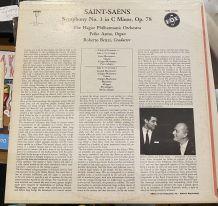 Vinyle vintage Camille Saint-Saens