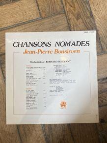 Vinyle vintage Jean-Pierre Bonsirven - Chansons Nomades