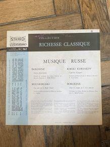 Vinyle vintage Musique Russe