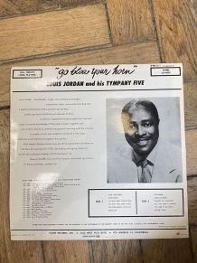 Vinyle vintage Louis Jordan - Go blow your horn