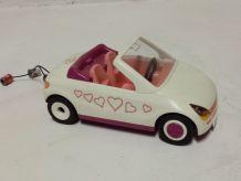 Voiture de mariage Playmobil avec cannettes