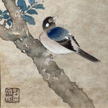 Estampe chinoise du XIXème  siècle