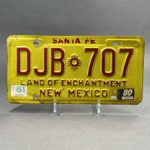 Plaque d'immatriculation USA Santa Fe