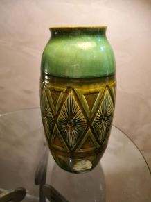 vase art deco espagne  non signé 28x14
