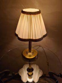 lampe de chevet laiton  1950   28x12