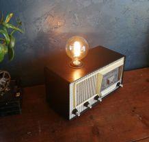 "Lampe en bakélite lampe vintage radio des années 60 ""Radiola"