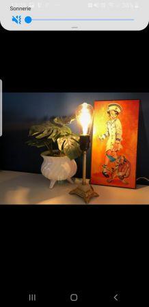 Jolie lampe vintage