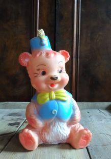 Pouet ours de cirque (Rubbertoys)