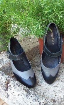 Chaussures à brides pour danser !