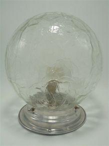 Plafonnier globe