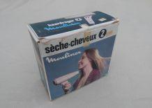 Sèche cheveux Moulinex année 70