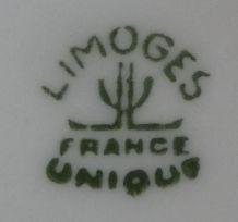 Service de table en Limoges