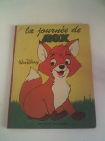 Livre la journée de Rox Walt Disney 1981 vintage Hachette Li