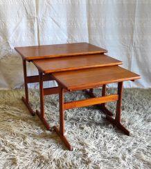 Tables gigognes par Kai Kristiansen (DK) - années 60