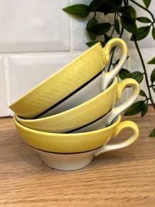 Set de 3 tasses Vintage