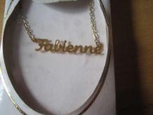 collier prénom FABIENNE