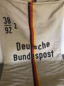 Sac en jute Deutsche Bundespost