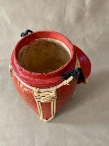 Boîte à riz en bambou