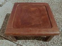 banc , table  basse en bois ,vintage
