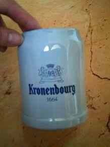 Shop à bière bleu clair Kronenbourg  1664