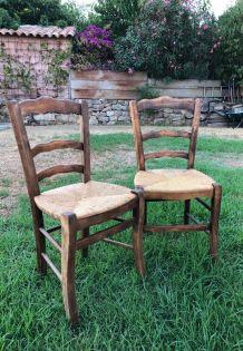 2 chaises Corses