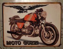 Plaque métal Moto Guzzi 750