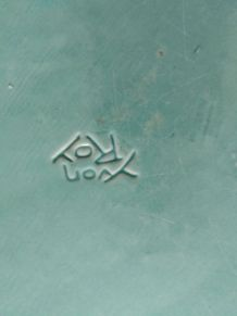 Plat rond '' YVON ROY ''
