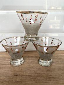 3 verres années 50