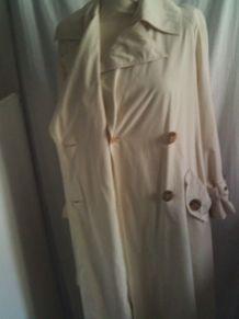 Manteau beige femme taille L 38 sans marque