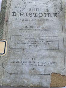 Livre Récit d'histoire de vercingetorix à Henri IV