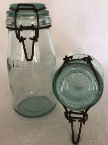 Paire de bocaux L'IDEALE - 3/4 litre