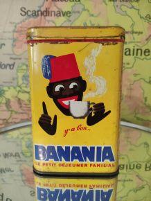 BANANIA BOITE CAFÉ