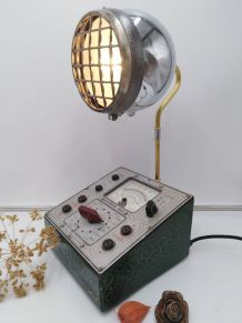 Lampe industrielle, Detournement d'objet