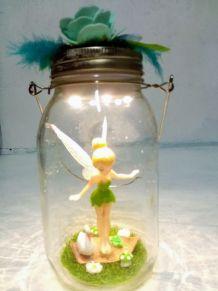 Lampe fée Clochette, lanterne fée, veilleuse enfant