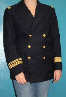ancienne veste femme officier  militaire