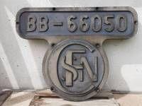 plaque frontale locomotive diesel sncf 1950