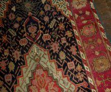 Tapis ancien Caucasien Karabagh fait main, 1B492