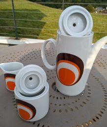 Service à café 1970 porcelaine Bavaria