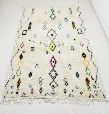 226x147cm Tapis berbere marocain