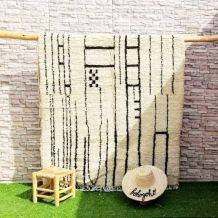 242x153cm tapis berbere marocain