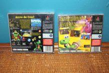 lot jeux Croc  1 et 2PlayStation