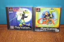 lot jeux  gex the gecko PlayStation