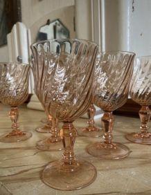 8 verres à vin Rosaline