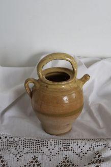 Gargoulette, cruche, poterie en grès vernissé