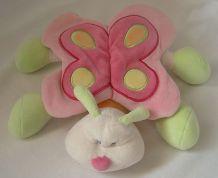 Doudou Nattou papillon musical ailes bruissantes