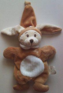 Doudou lapin marionnette éveil & tendresse