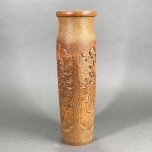 Pot à pinceaux asiatique
