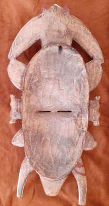 Masque africain  sénoufo,Côte d'ivoire